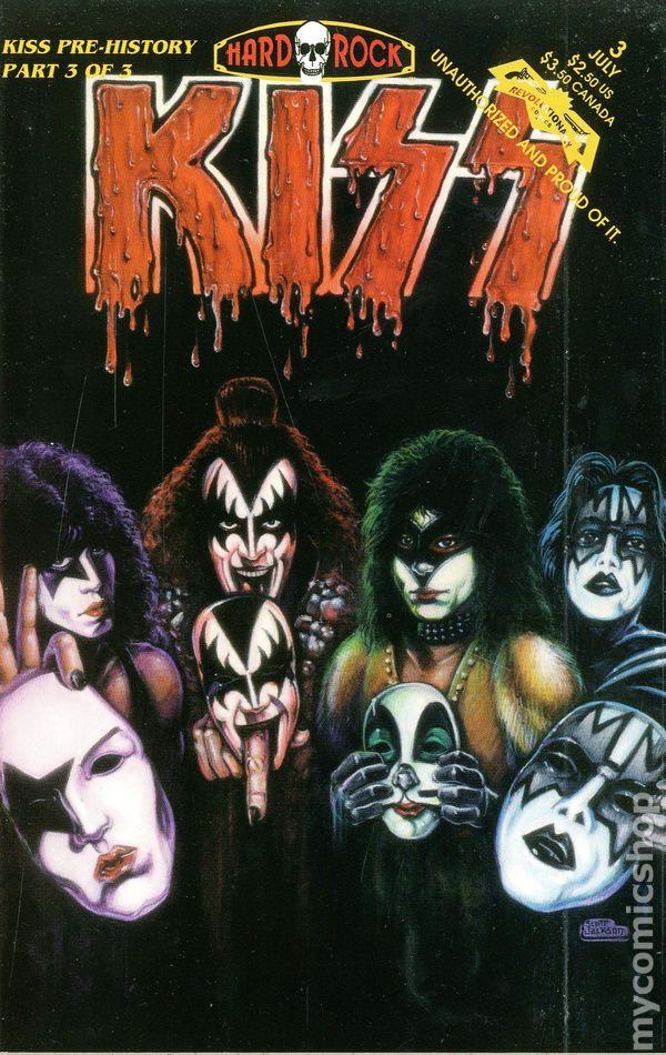 Kiss Pre History 1993 Comic Books