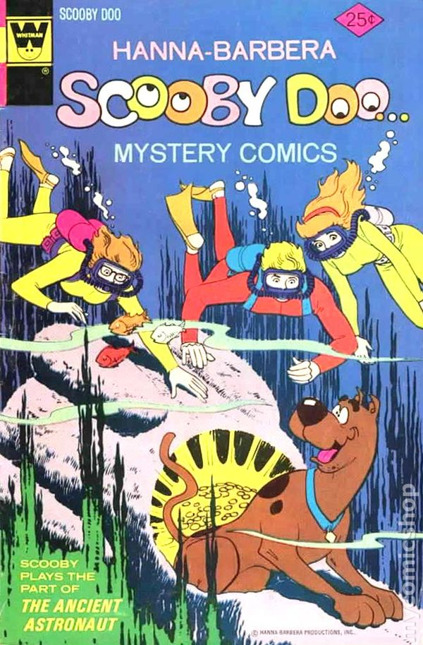 Comic Books In Scuba Diver