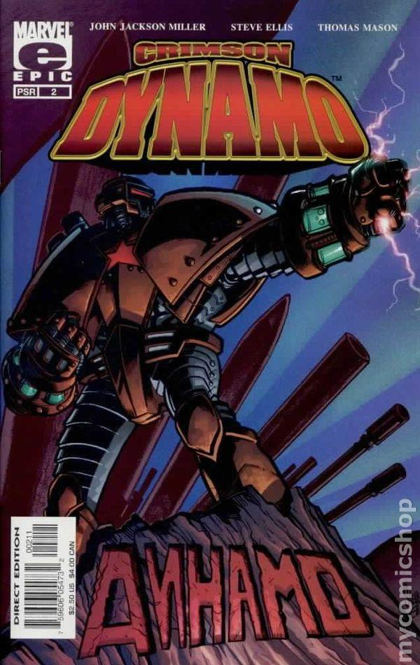 Crimson Dynamo (2003) comic books
