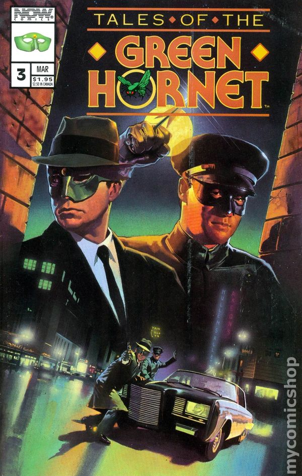 Tales of the Green Hornet 19920104 2nd Series comic books