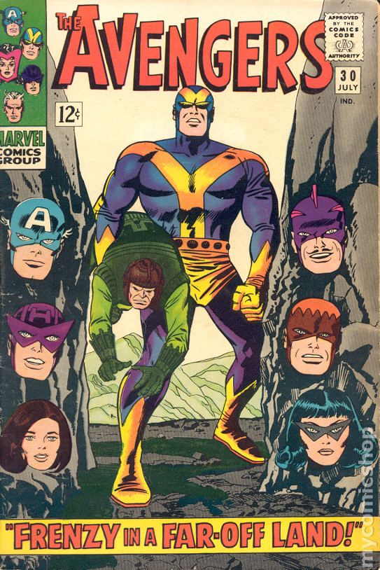 Avengers 1963 1st Series comic books 19601969