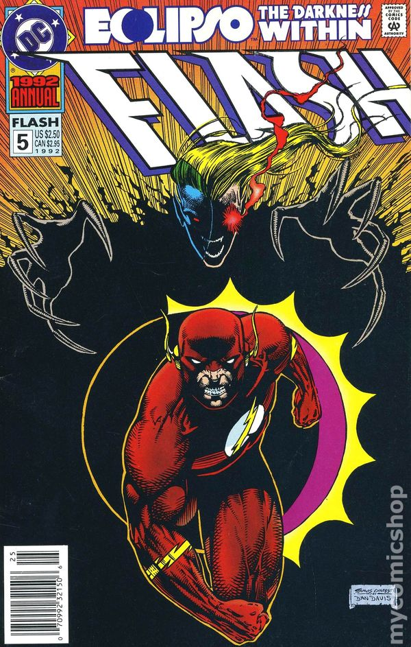 Comic books in Eclipso The Darkness Within