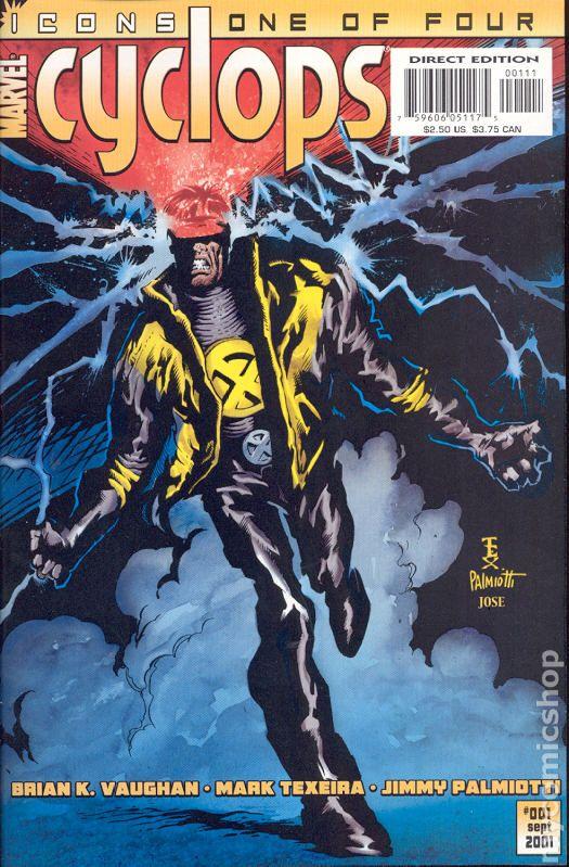 Cyclops 2001 Icons comic books