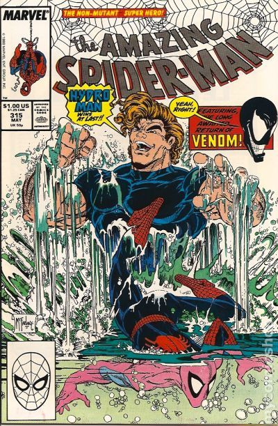 Spiderman 298 : spiderman, Amazing, Spider-Man, (1963, Series), Comic, Books, Issue, Numbers, -325,328