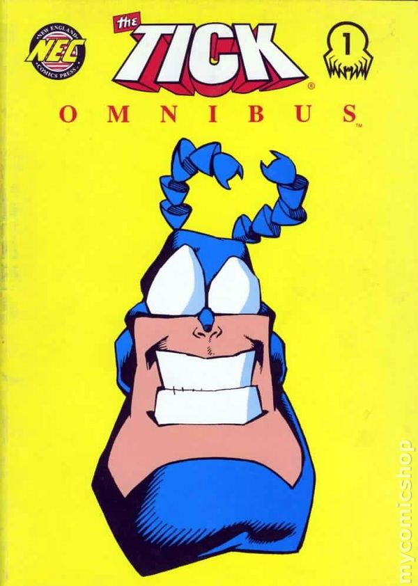 The Tick Omnibus 1 Cover