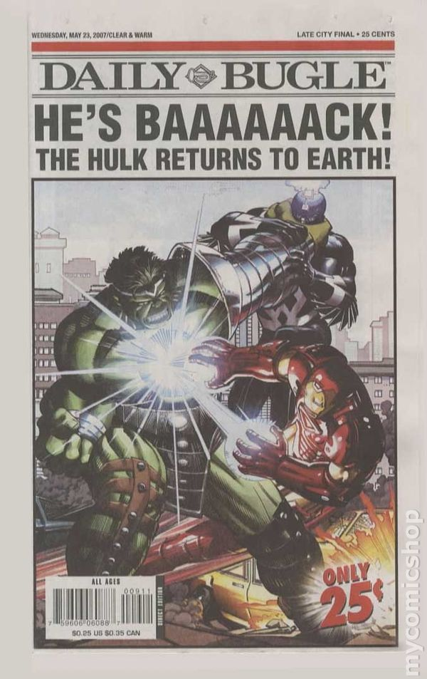 Daily Bugle Newspaper 2006 comic books