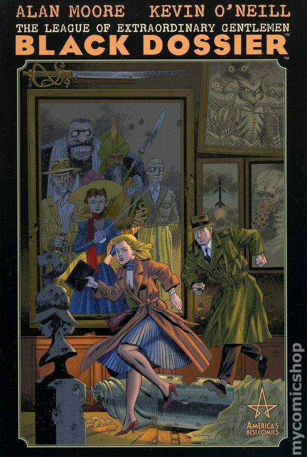 League of Extraordinary Gentlemen Black Dossier HC (2007 America's Best Comics) comic books