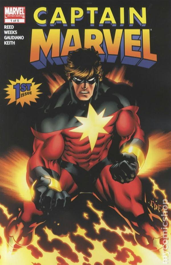 Captain Marvel 2007 6th Series comic books