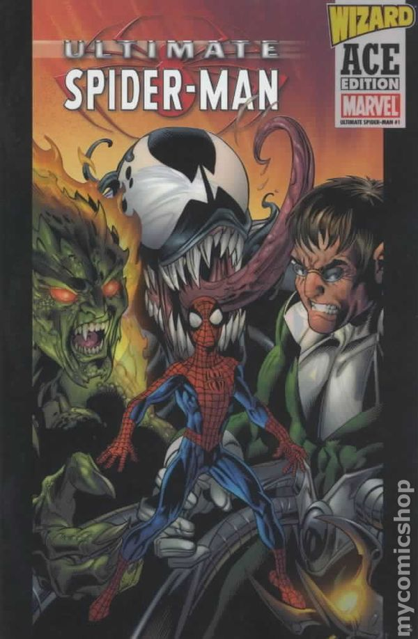 Ultimate spiderman comic books issue 1
