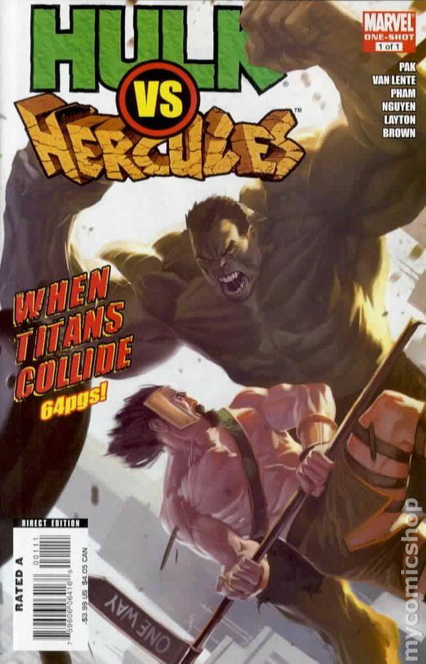 Hulk vs Hercules When Titans Collide 2008 comic books