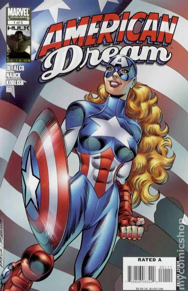 American Dream 2008 Marvel comic books