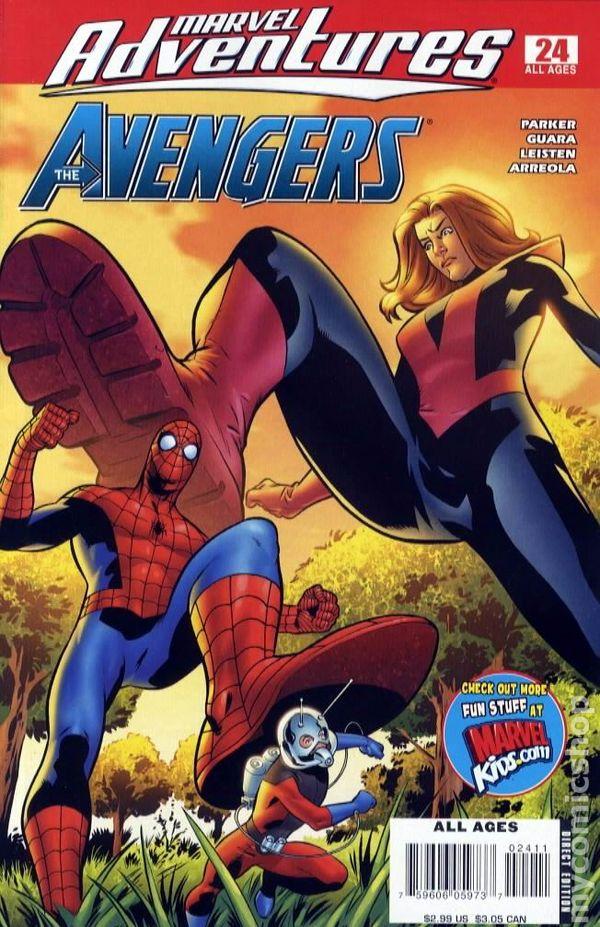 Marvel Adventures Avengers 2006 comic books