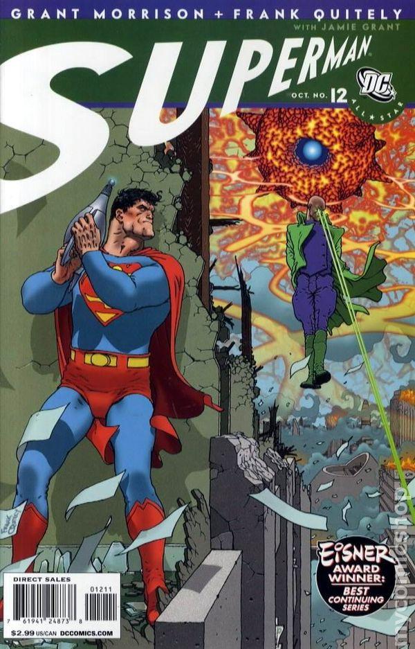 All Star Superman 2005 comic books