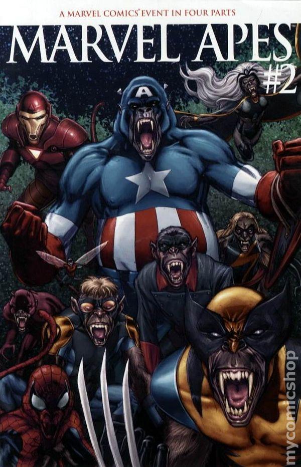 Marvel Apes 2008 comic books