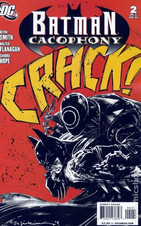 Onomatopoeia Dc Comics : onomatopoeia, comics, Batman, Cacophony, (2008), Comic, Books
