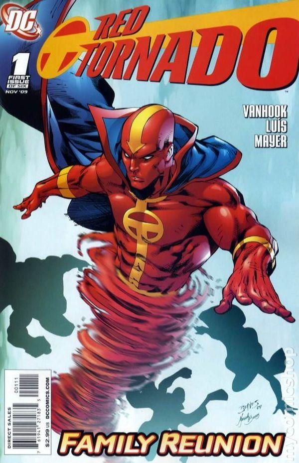 Red Tornado 2009 DC 2nd Series comic books