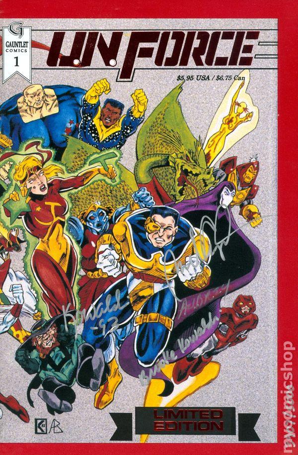 UN Force 1993 comic books
