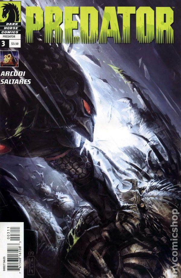 Predator 2009 Dark Horse comic books