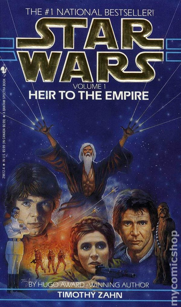 Comic books in Star Wars The Thrawn Trilogy Novel