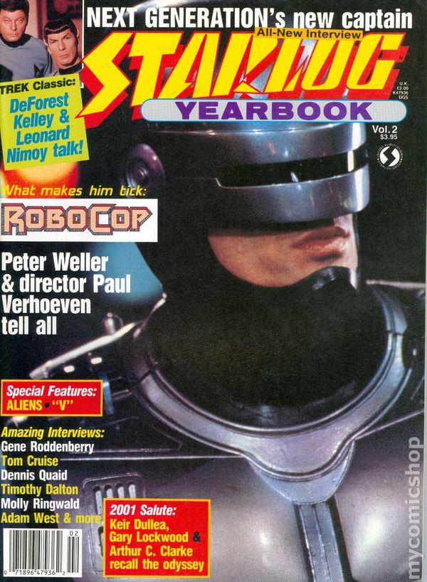 Starlog Yearbook comic books