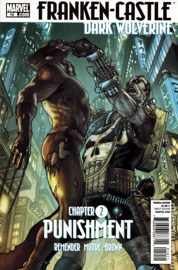 Comic books in Dark Wolverine vs Punisher