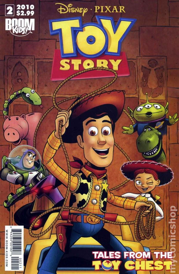 Toy Story Tales from the Toy Chest 2010 Boom comic books