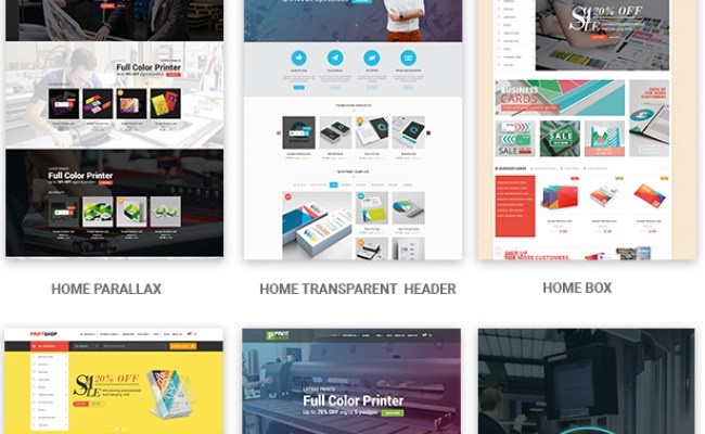 Printshop Wordpress Responsive Printing Theme By