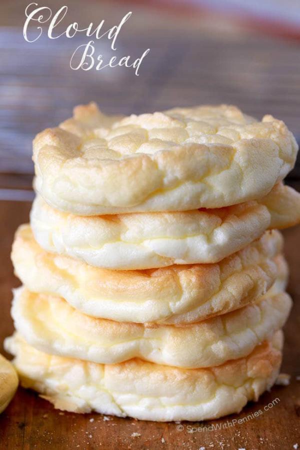 Cara Membuat Roti Awan : membuat, Cloud, Bread:, Mirip, Bebas, Karbohidrat, Womantalk