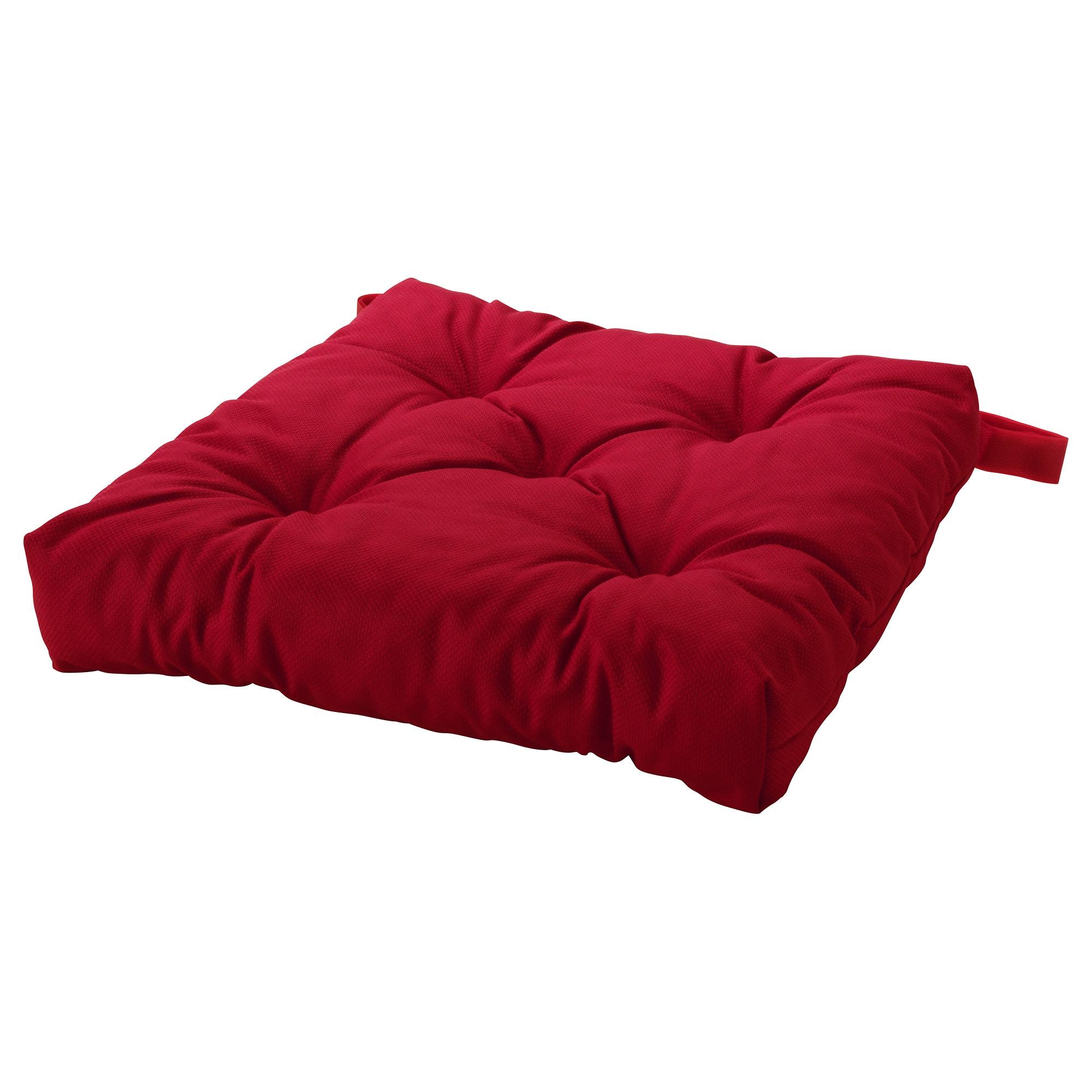 MALINDA cojn para silla rojo