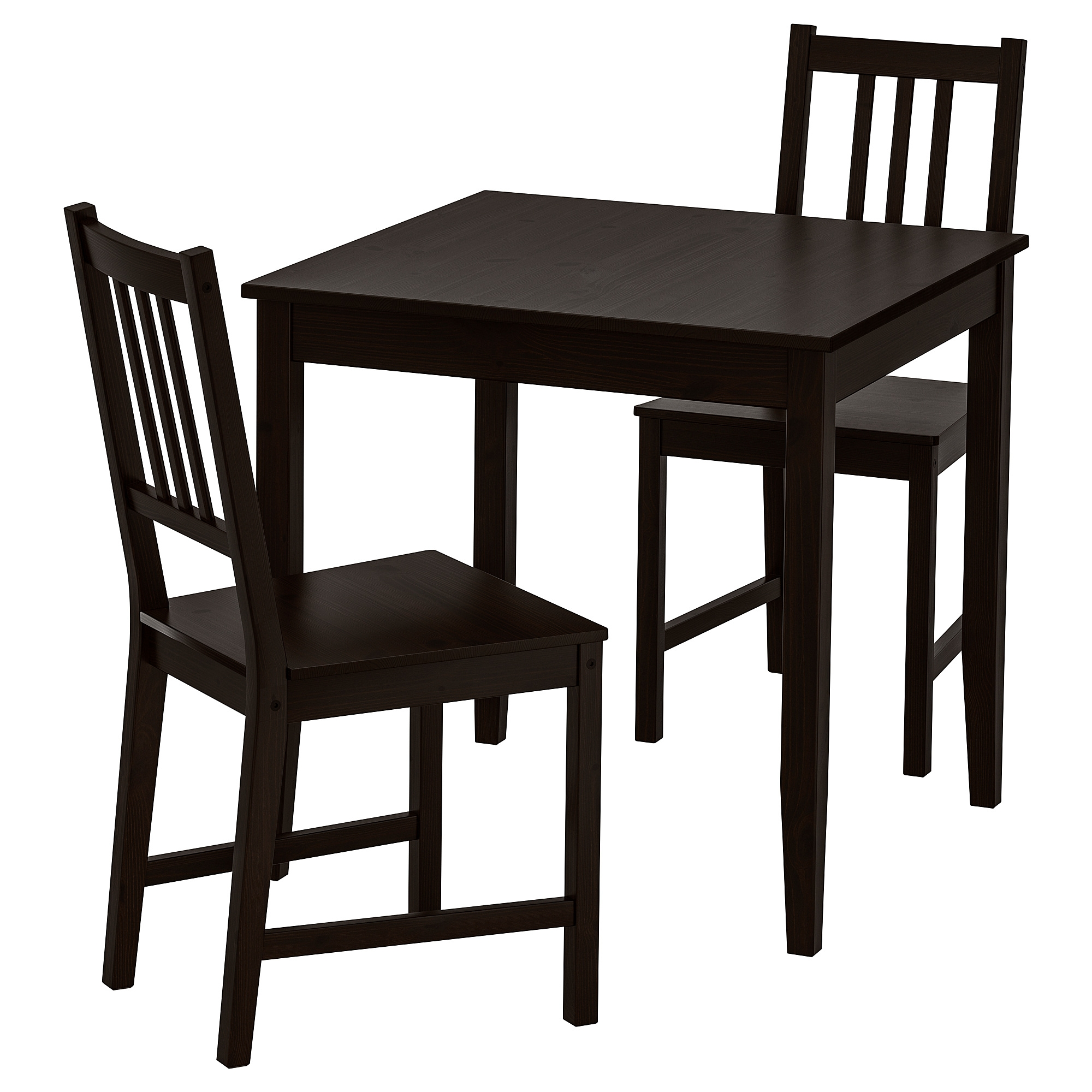 Table With 2 Chairs Lerhamn Stefan Table And 2 Chairs