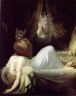 Nightmare - Johann Heinrich Fussli