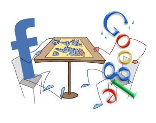 Bildergebnis für facebook google big data