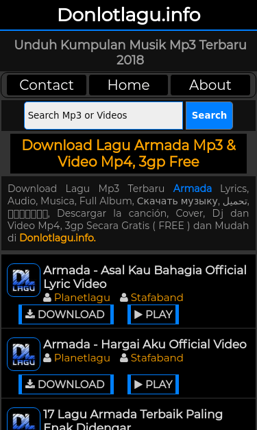 Stafaband Mp4 Download : stafaband, download, Www.donlotlagu.info/mp3/armada.html, Report, Checkup