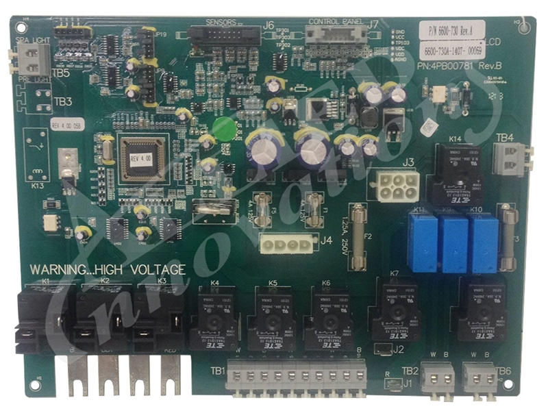 Allied Innovations Circuit Board Lcd Single Speed 60hz Sd6600161