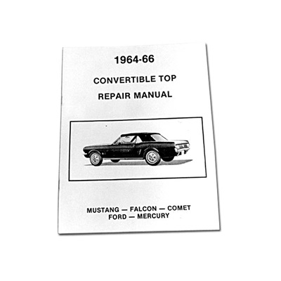 64-66 CONV TOP REPAIR MANUALMP-14