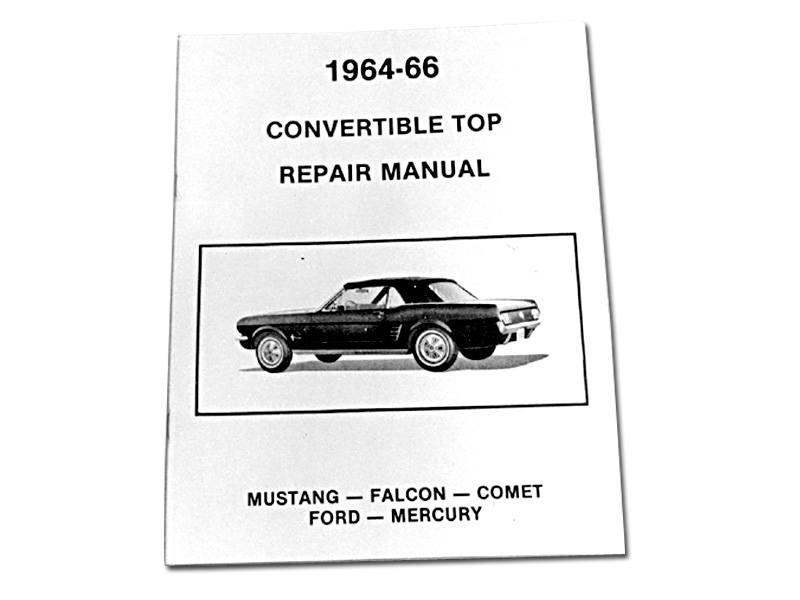 64-66 CONV TOP REPAIR MANUALMP-14