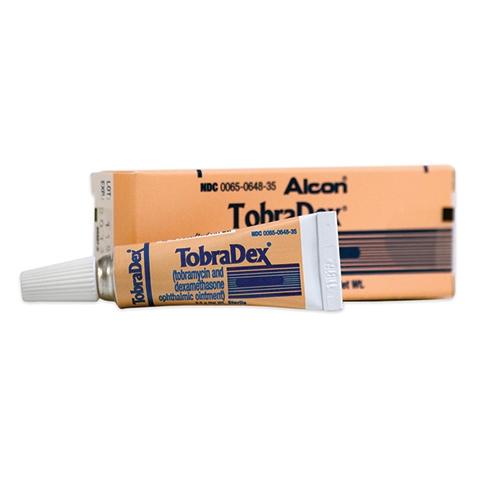 Tobradex Oinment 0.3%-0.1% 3.5gm - Ophthalmic Antibiotics