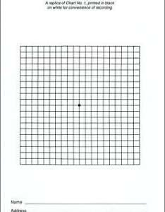Eye chart  amsler grid recording pad also pads rh accutome