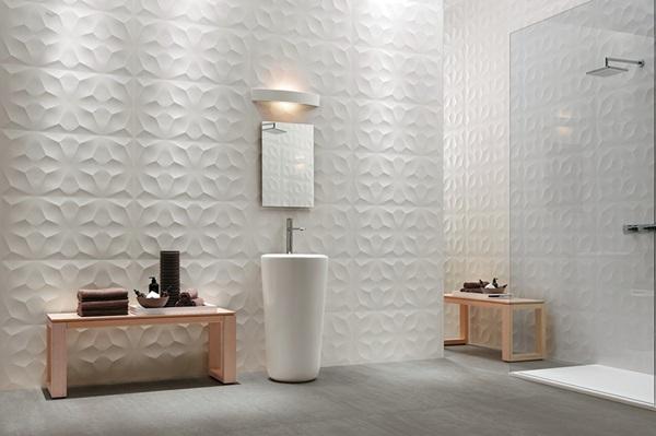 Tierra Sol Ceramic Tile  Atlas Concorde 3D Wall Design