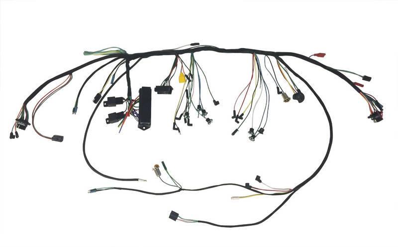 65 PREM U/DASH HARN W/GAUGESC5ZZ-14401-WG-P