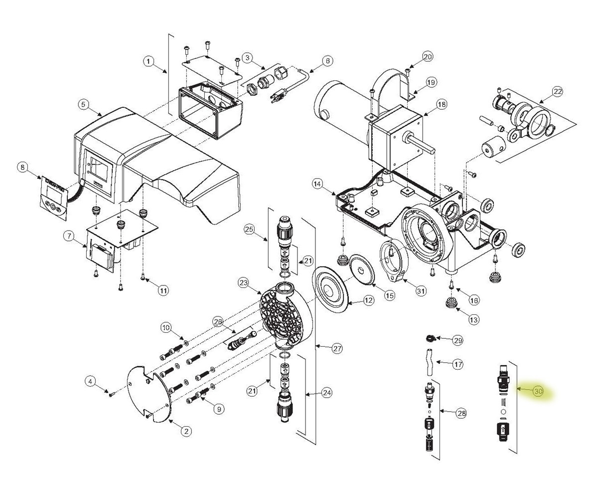 hight resolution of  injection point check valve 1 2 mnpt spare parts diagram