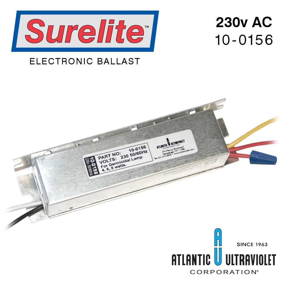 medium resolution of surelite ballast 230v