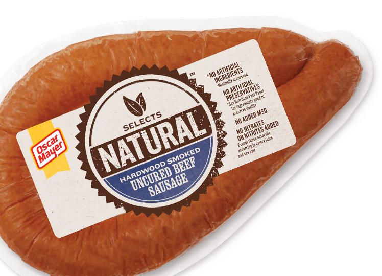 pork beef turkey and natural sausage