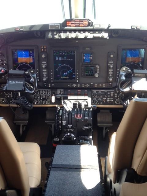 King Air 350 Interior