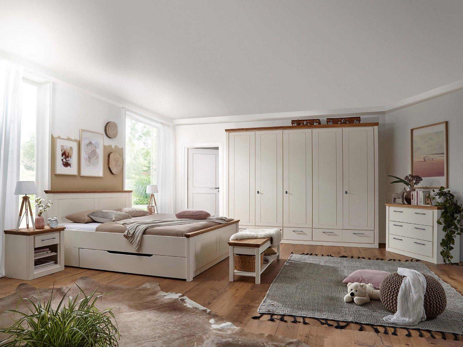 Schlafzimmer Set Kompletteinrichtung Kernbuche massiv ...