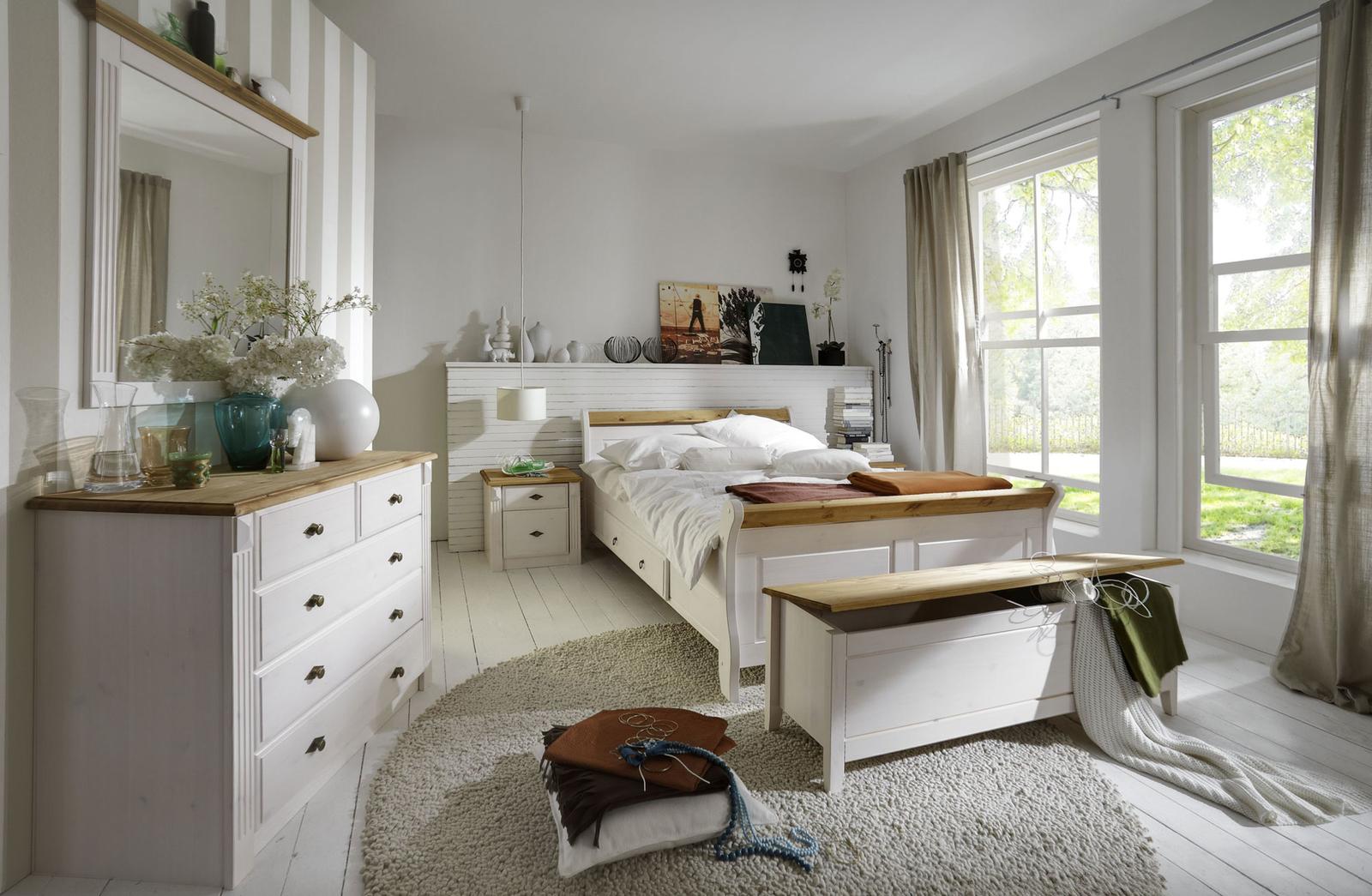 Schlafzimmer Landhausstil Weiß Kaufen   Schlafzimmer ...