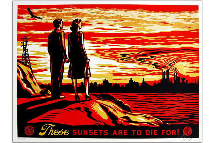 shepard fairey poster art