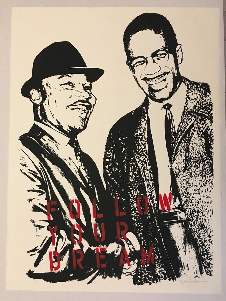 Martin Luther King Malcolm X : martin, luther, malcolm, Brainwash, Follow, Dream, (Martin, Luther, Malcolm, Widewalls