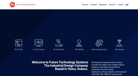 Visit Fts.gr - Product Design services in Greece - FTS.S.A..