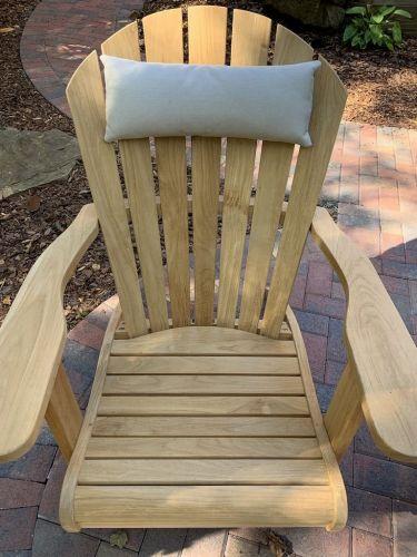 custom adirondack chair headrest pillow